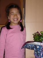 竹村佳子 5歳